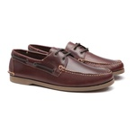Deckshoes JERRY Pull Old S/A - Docksides Masculino Samello