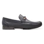 Mocassim s/b COMPASS Marinho - Sapato Masculino Loafer Samello