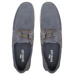 Deckshoes MOLEGATO Jeans Camurça - Docksides Masculino Samello