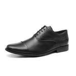 Social s/b REXTON Preto - Sapato Masculino Oxford Samello