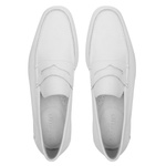 Comfort Gel OVIEDO Branco - Sapato Masculino LoaferSamello