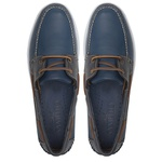 Deckshoes VELEIRO Jeans & Marinho - Docksides Feminino Samello