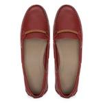 Mocassim HAIA Vermelho - Loafer Feminino Samello
