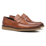 Casual SEDAN Look Papaya - Sapato Masculino Loafer Samello