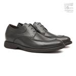 Elevator Casual s/b COUPE Preto - Sapato Masculino Oxford Samello