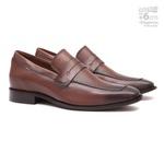 Elevator Social s/c SENTRA Capuccino - Sapato Masculino Loafer Samello