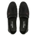 Mocassim s/b SHELTON Preto - Sapato Masculino Loafer Samello