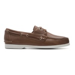 Deckshoes JERRY Papaya S/branca - Docksides Masculino Samello
