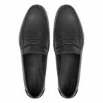 Mocassim s/c BOSSIER Preto - Sapato Masculino Loafer Samello