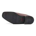 Comfort Gel S/B COLUMBRES Café - Sapato Masculino Loafer Samello
