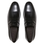 Elevator Social LAURO Preto - Sapato Masculino Loafer Samello