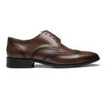 Social S/C ROVER Moss - Sapato Masculino Derby Samello