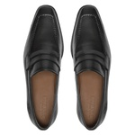 Social s/c SENTRA Preto - Sapato Masculino Loafer Samello