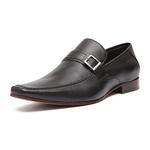 Sapato Clássico Masculino Loafer Onix Preto Samello