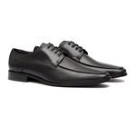 Sapato Social Masculino Oxford HELMOND Preto Samello