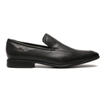 Sapato Clássico Masculino Loafer Lino Preto Samello