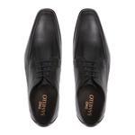 Sapato Elevator Patria Preto Oxford Samello