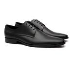 Social s/c CERRO Preto - Sapato Masculino Oxford Samello
