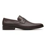 Sapato Clássico Masculino Loafer Charcas Café Samello