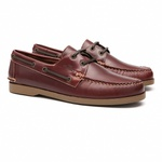 Deckshoes JERRY Pull Up Old S/ Ambar - Docksides Masculino Samello