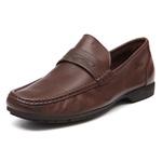 Sapato Masculino Loafer Barrom Chocolate Samello