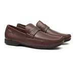 Mocassim BARROM Chocolate - Masculino Loafer Samello