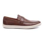 Sapato Masculino Loafer Chepen Tan Samello