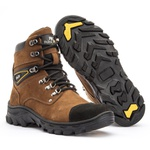 Bota Adventure Polo Joy Cano Alto Tan