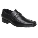 Sapato Sândalo Social Plaza Black