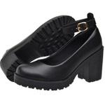 Sapato Boneca Modelo 3 Preto