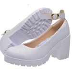 Sapato Boneca Modelo 3 Branco