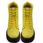 Coturno Basic Amarelo