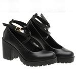 Sapato Boneca Modelo 1 Preto