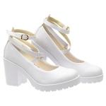 Sapato Boneca Modelo 1 Branco