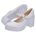 Sapato Boneca Modelo 2 Branco