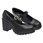 Sapato Boneca Modelo 2 Preto