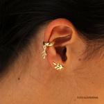 Brinco Ear Cuff Em Prata 925 - Arruda Silver | Coleção Tribus