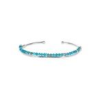Bracelete Frame Cianita Azul | Novidades