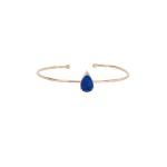 Bracelete Gota de Lápis Lazuli Gold | Novidades