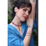 Bracelete Gota de Turmalina Rosa Gold | Novidades