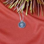 Colar Medalha Buda   Santonina 6 Anos