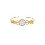 Bracelete Irmãs Deusa Dourado | Coleção Guta Virtuoso