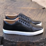 Sneaker Classic Black/Whisky