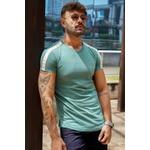 T-shirt Long Bergen Green