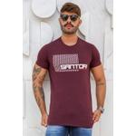 T-shirt Hive Burgundy