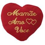 Coração Mamãe Amo Você
