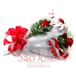 Buquê Clássico 6 Rosas