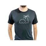 Camiseta T-Shirt Masculina Beach Preta