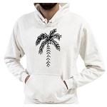Blusa de Frio Moletom Masculino Coqueiro Branco