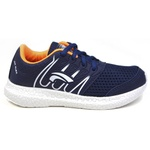 Tênis esportivo Utraflex azul/laranja 130 FRC